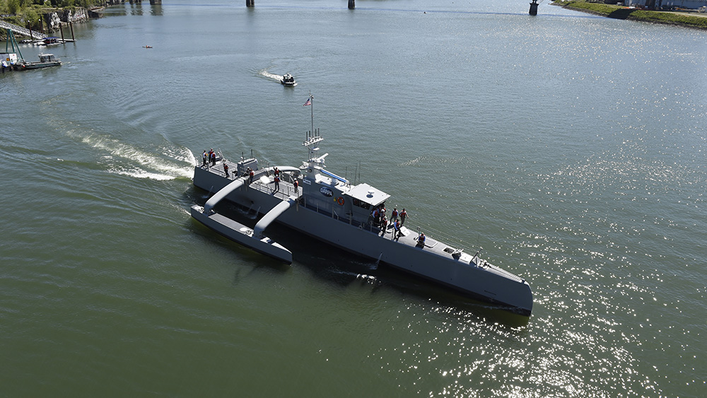 Sea Hunter Navy Drone Ship
